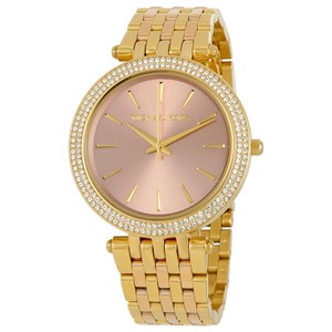 Michael Kors NWOT Darci two tone three hand watch