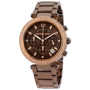 Michael Kors NWOT Parker chronograph ladies watch