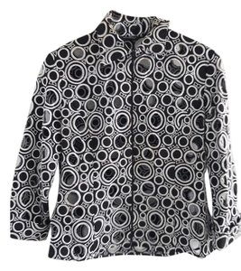 Samuel Dong black and white Jacket