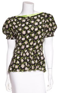 Dolce&Gabbana Top Black & Green