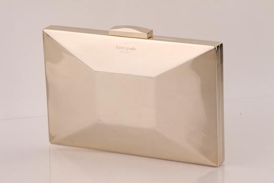 Kate Spade Gold Clutch Image 8