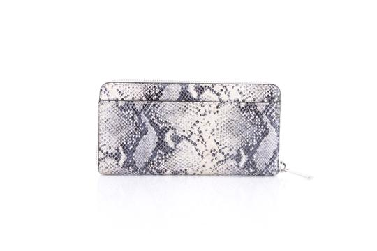 Coach * Coach Ivory Taylor Exotic Embossed Leather Zip Around Wallet Image 5