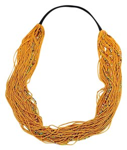 Anthropologie Multi strand beads necklace