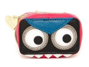 Betsey Johnson New Monster Contact Lens Case with Mirror, Bag Accessories, BJ55315P