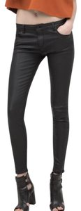 Zara Skinny Jeans-Coated