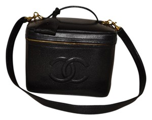 Chanel Black Travel Bag