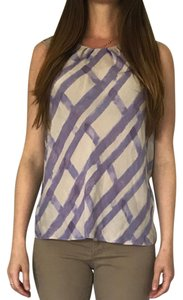 Banana Republic Top purple pattern