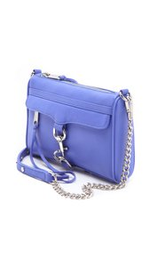 Rebecca Minkoff Leather Chain Tassels Bright Cross Body Bag