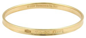 Tiffany & Co. 1837 Collection 18k Yellow Gold Wide Bangle
