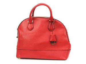 Michael Kors Smythe Satchel in Red Chili