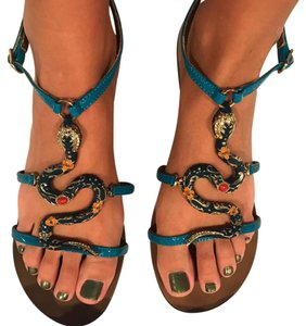 Michael Antonio blue Sandals