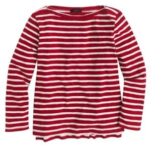 J.Crew T Shirt red & white