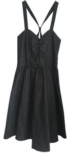 Jack by BB Dakota A-line Sparkle Sweetheart Crisscross Strap Dress