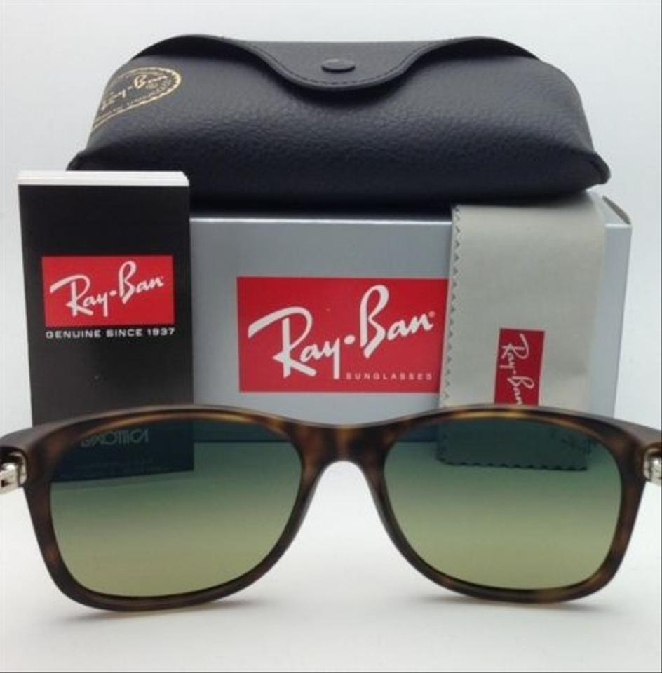 dc3350ec3a Ray-Ban New Wayfarer Rb 2132 894 76 Havana Frame W Blue-green Lenses  Polarized 894 76 Tortoise Sunglasses - Tradesy