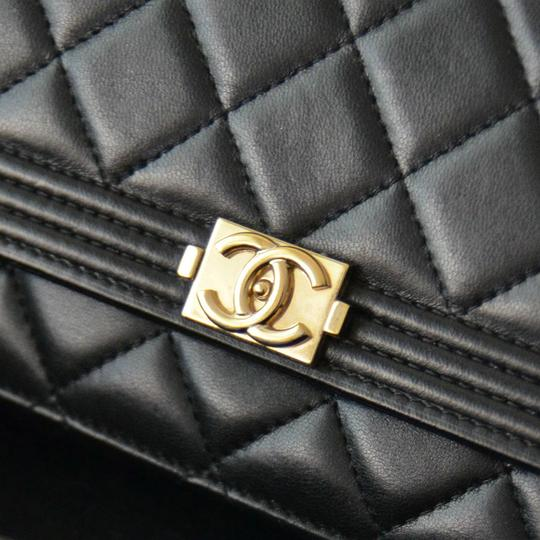 Chanel Woc Boy Boy Woc Lambskin Quilted Cross Body Bag
