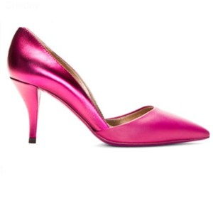 Lanvin Fuschia Pumps