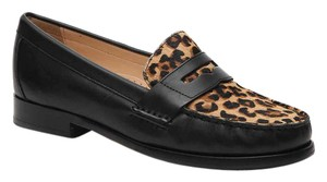 Cole Haan Loafer Leopard Leather Leopard/Black Flats