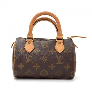 Louis Vuitton Monogram Canvas Speedy Mini Hobo Bag