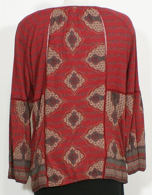 Lucky Brand Top Red Image 2