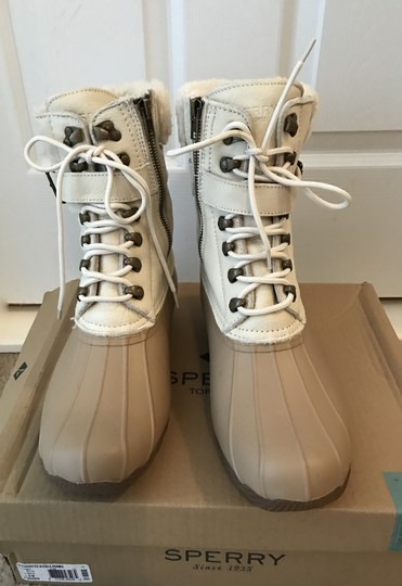 Sperry Champagne Pebble Boots Image 3