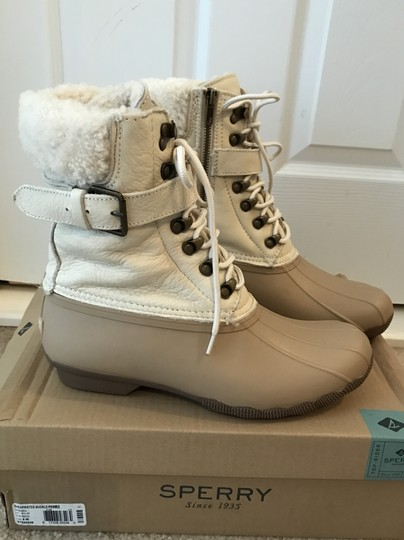 Sperry Champagne Pebble Boots Image 1