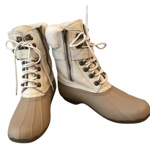 Sperry Champagne Pebble Boots