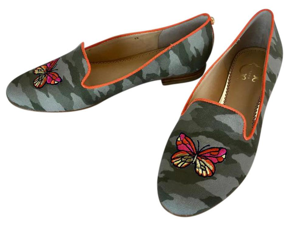 MISS C. Rich Wonder Camouflage Brittany Flats Rich C. on-time delivery d47950