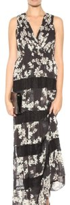 black floral Maxi Dress by Alice + Olivia