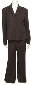 Ralph Lauren Ralph Lauren 100% Wool Brown Pinstripe Suit 16