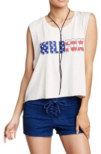 Wildfox Top Ivory