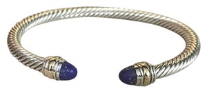 David Yurman David Yurman 5mm Cable Classic Bracelet with Lapis