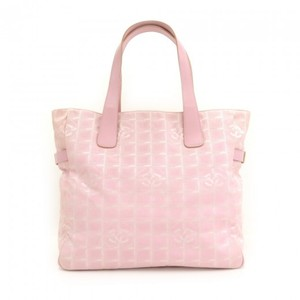 Chanel Large Tote Pink Travel Bag