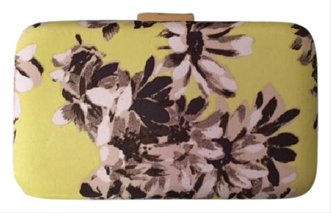 Item - New Flower Print Floral Silk Clutch