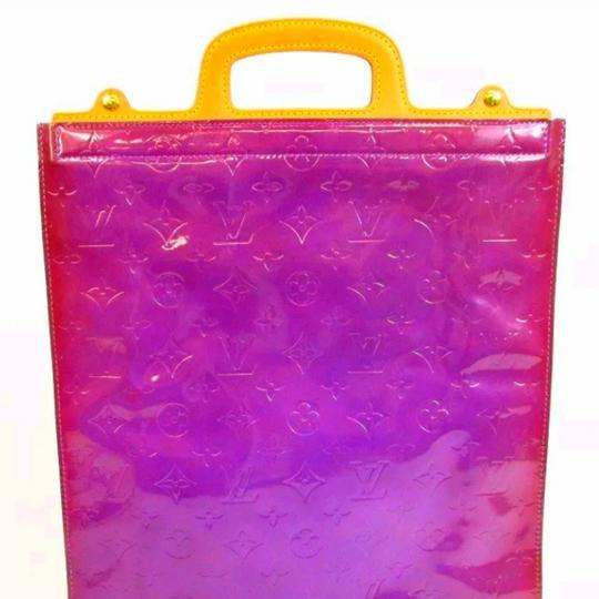 Louis Vuitton Tote in Purple Image 5