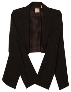 Leith Matte black material front with cropped