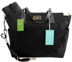 Kate Spade Order Today - Ships W/in 24 Hours Black Diaper Bag