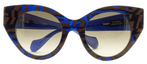 Fendi NEW FENDI (FANNY FF0105S) SUPER HOT CAT EYE SUNGLASSES, MADE IN ITALY