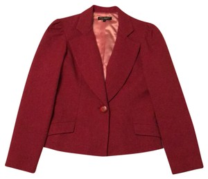 Betsey Johnson Dark pink with light pink lining. Blazer