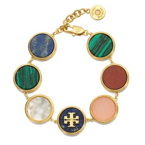 Tory Burch NEW TORY BURCH SEMIPRECIOUS MULTI BRACELET
