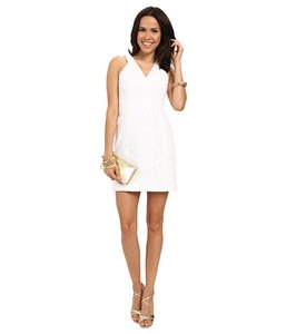 Lilly Pulitzer short dress White Summer Preppy Resort on Tradesy