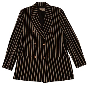 Valentino (MissV) Black and Gold Blazer
