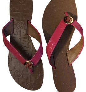 Tory Burch Fuchsia Sandals