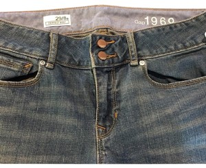 New Gap Jeans Boot Cut Jeans-Distressed
