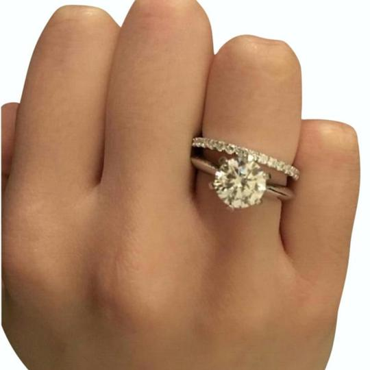 All Size In Stock 45678single Solitary Women's Wedding Band Set Image 2