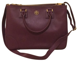 Tory Burch Satchel in purple/violet