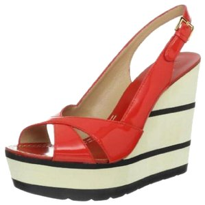 Kate Spade Kate Damara Heels red Wedges
