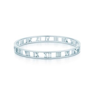 Tiffany & Co. Tyffany&Co. Silver Atlas Bangle