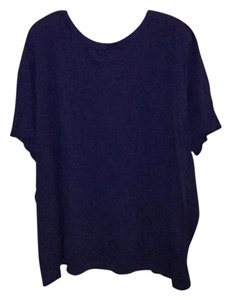 Woman Within T Shirt blue