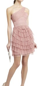 BCBGMAXAZRIA Pink Delicate One Pretty Formal Dress