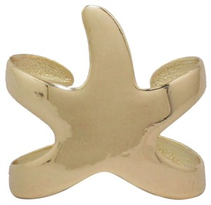 Other Gold Starfish Cuff Bracelet Bangle